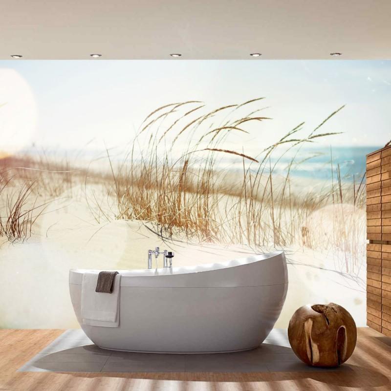 vlies fototapete no 148 strand tapete meer nordsee. Black Bedroom Furniture Sets. Home Design Ideas