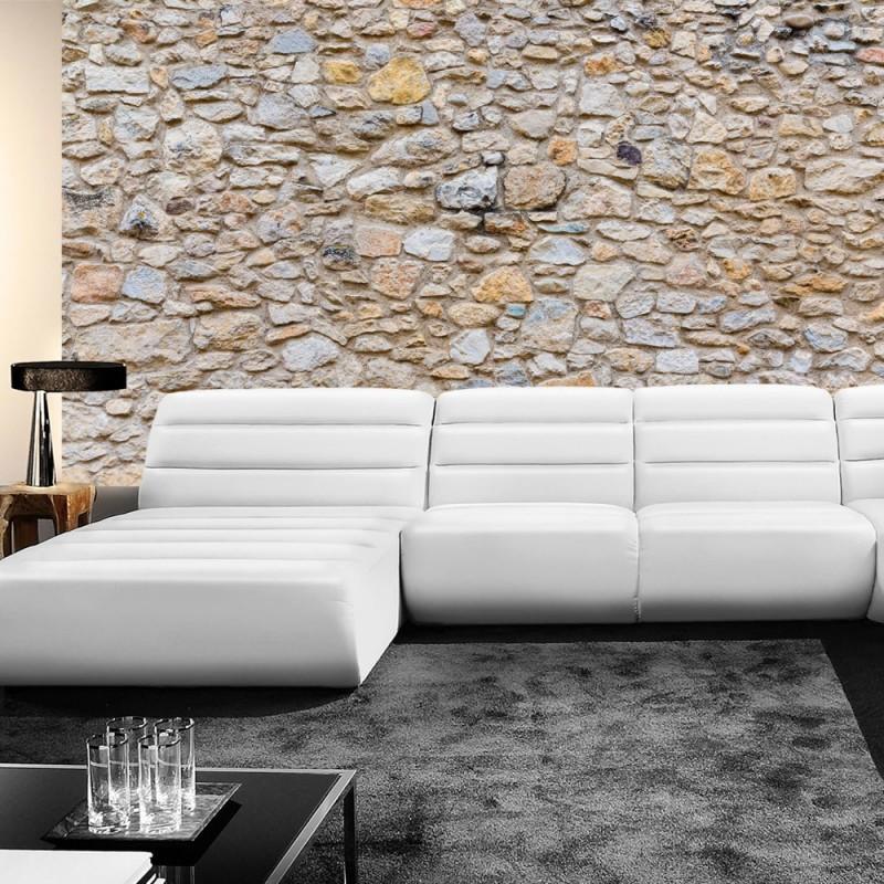 vlies fototapete no 149 steinwand tapete steinwand steinoptik steine wand mauer steintapete grau. Black Bedroom Furniture Sets. Home Design Ideas