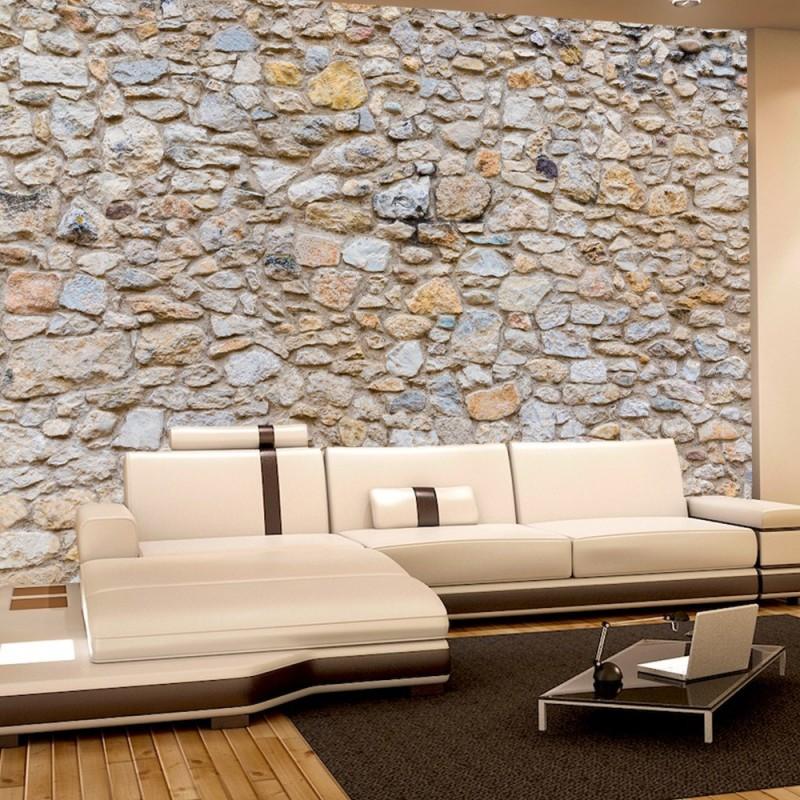 steintapete grau vlies. Black Bedroom Furniture Sets. Home Design Ideas