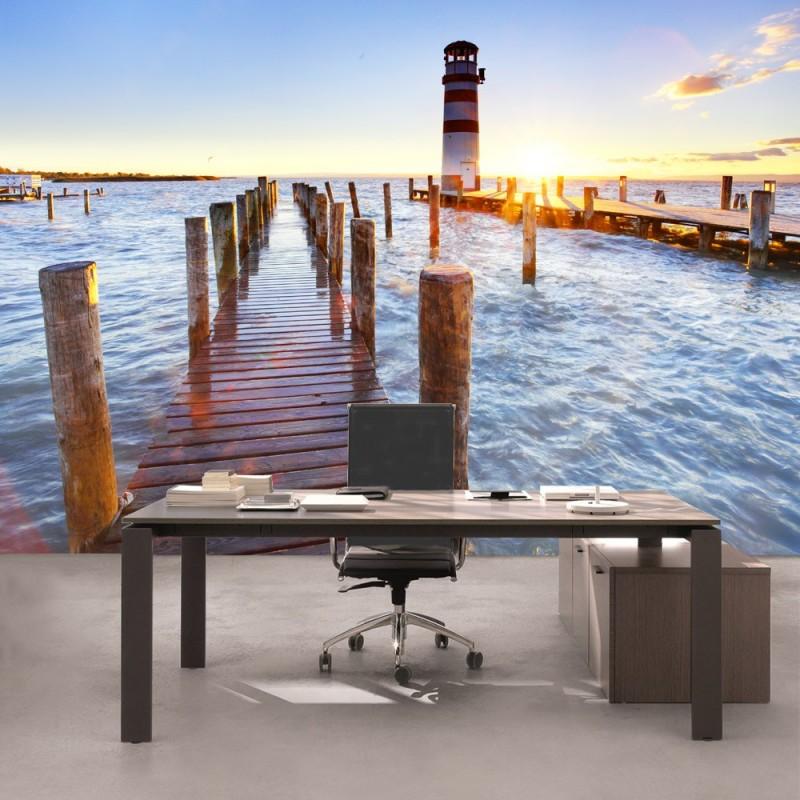 vlies fototapete no 150 meer tapete strand beach. Black Bedroom Furniture Sets. Home Design Ideas