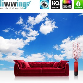 PREMIUM Fototapete - no. 154   Himmel Wolken Blau Romantisch Urlaub