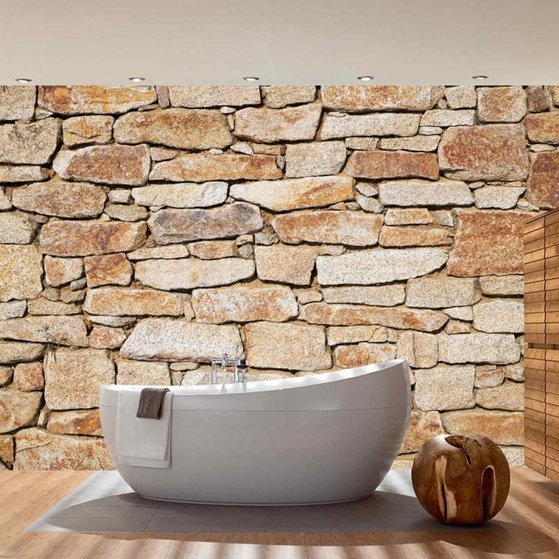 vlies fototapete no 163 steinwand tapete steinwand. Black Bedroom Furniture Sets. Home Design Ideas