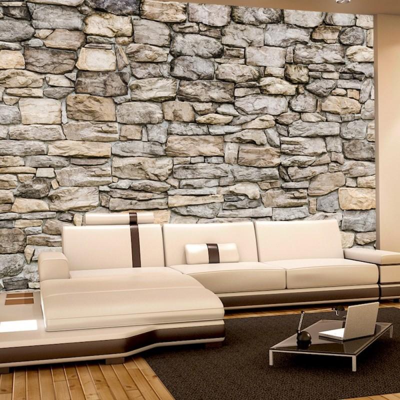 steintapete beige home design inspiration und interieur