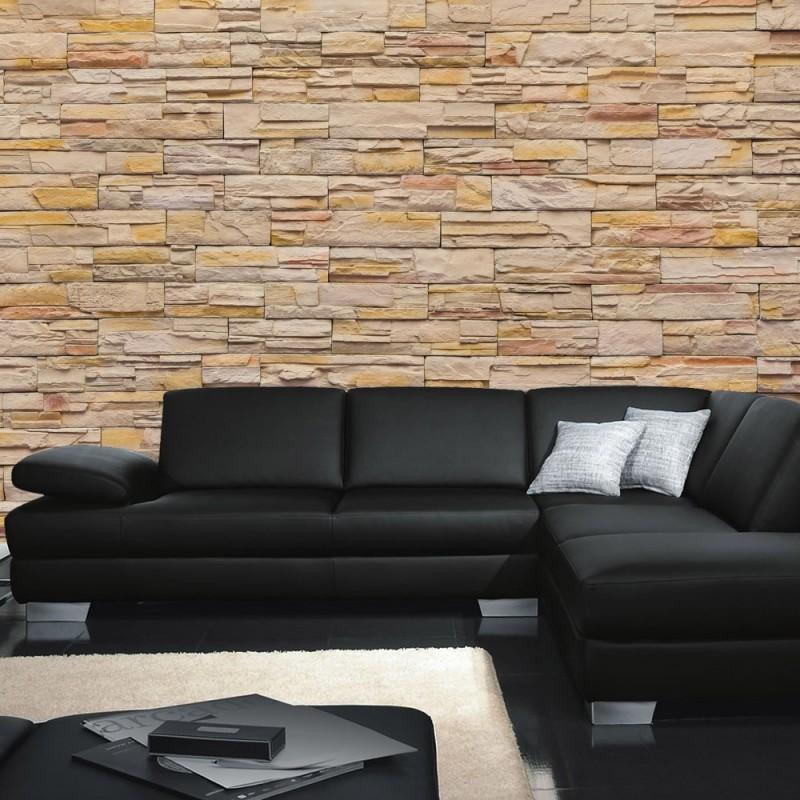vlies fototapete no 169 steinwand tapete steinoptik. Black Bedroom Furniture Sets. Home Design Ideas