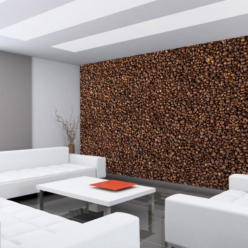 kaffee tapete interior design und m bel ideen. Black Bedroom Furniture Sets. Home Design Ideas