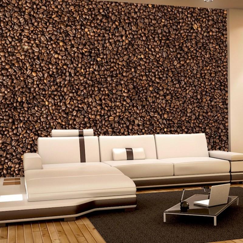vlies fototapete no 177 kaffee tapete kaffee bohnen. Black Bedroom Furniture Sets. Home Design Ideas
