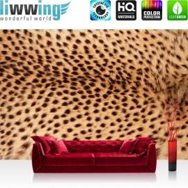 PREMIUM Fototapete - no. 181 | Leopard Tier Braun Natur