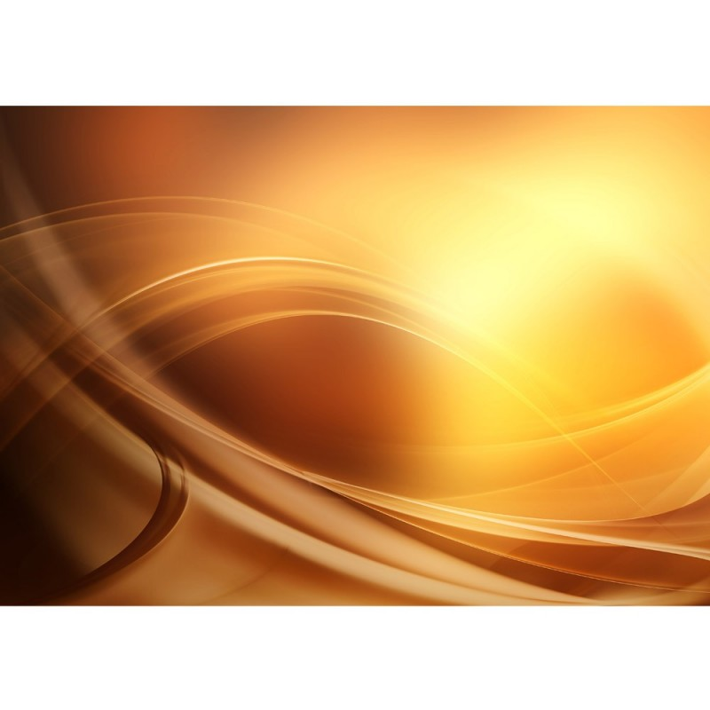 209 | Abstrakt Wellen Entspannung Gelb ...