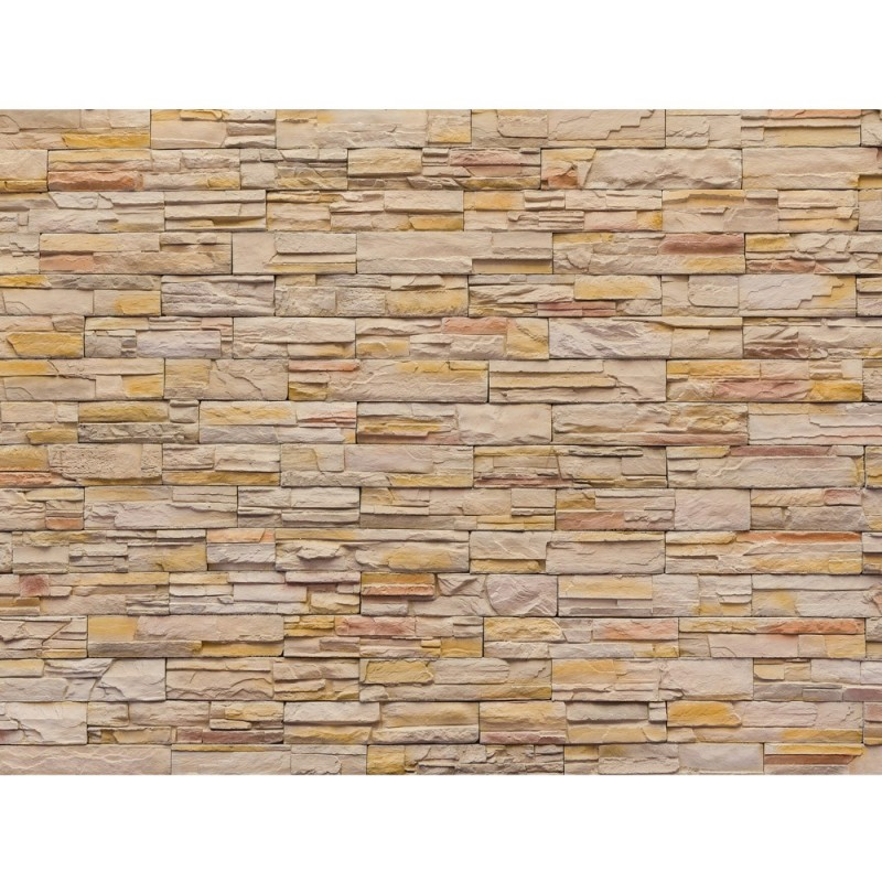 liwwing r leinwandbild no 169 100x75cm 1 teilig steinwand steinoptik steine wand mauer. Black Bedroom Furniture Sets. Home Design Ideas