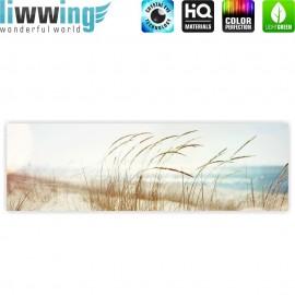"liwwing (R) Marken Leinwandbild ""no. 148"" | Panorama | Strand Meer Nordsee Ostsee Beach Wasser Blau Himmel Sonne Sommer"