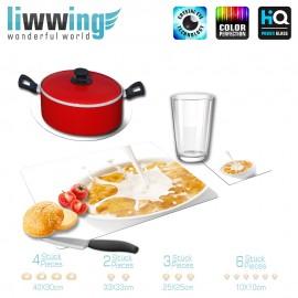 Küchenset komplett no. 3725 | Kulinarisches Corn Flakes, Milch, Schüssel, Frühstück natural | liwwing (R)