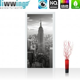 "Tür Fototapete ""Manhattan Skyline"" 