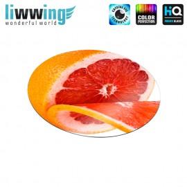 Glas-Topfuntersetzer Set no. 3591 | Speisen Grapefruit natural | liwwing (R)