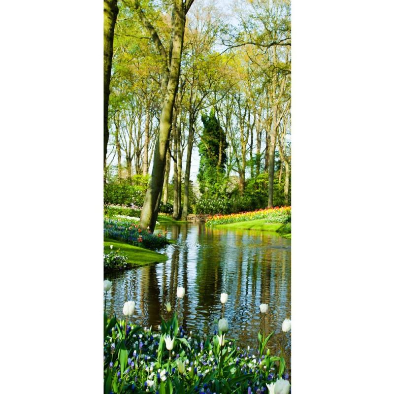 Fototapete wald wasser  liwwing (R) Marken Vlies Tür Fototapete no. 256 Türtapete Wald ...