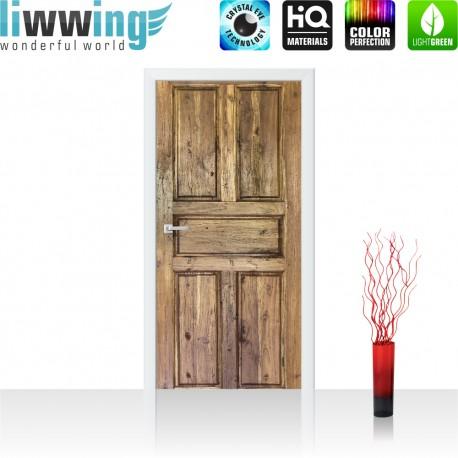 Tür Fototapete ''no. 4271'' | 91x211cm | Sonstiges Tür, Holz, Maserung | liwwing (R)