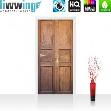 Tür Fototapete ''no. 4272'' | 91x211cm | Sonstiges Tür, Holz, Alt, Antik | liwwing (R)