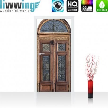 Tür Fototapete ''no. 4273'' | 91x211cm | Sonstiges Tür, Holz, Alt, Antik | liwwing (R)