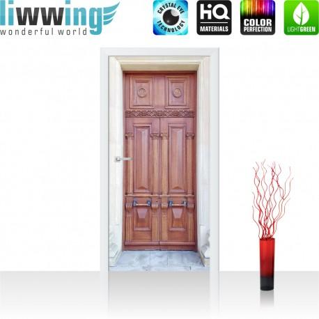 Tür Fototapete ''no. 4275'' | 91x211cm | Sonstiges Tür, Holz, Alt, Antik | liwwing (R)