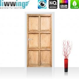 Tür Fototapete ''no. 4290'' | 91x211cm | Sonstiges Holz, Brett, Muster, Alt, Maserung | liwwing (R)