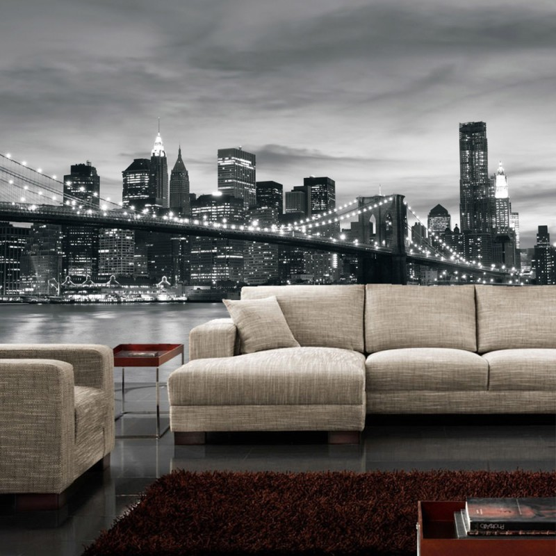 vlies fototapete no 269 new york tapete new york. Black Bedroom Furniture Sets. Home Design Ideas