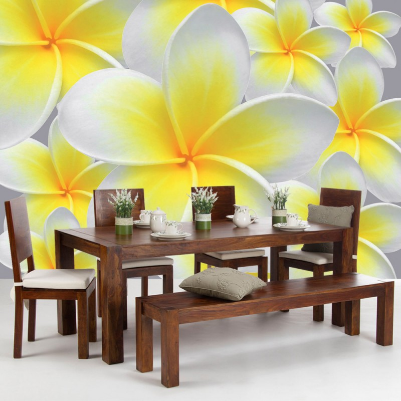 orchideen tapeten interior design und m bel ideen. Black Bedroom Furniture Sets. Home Design Ideas