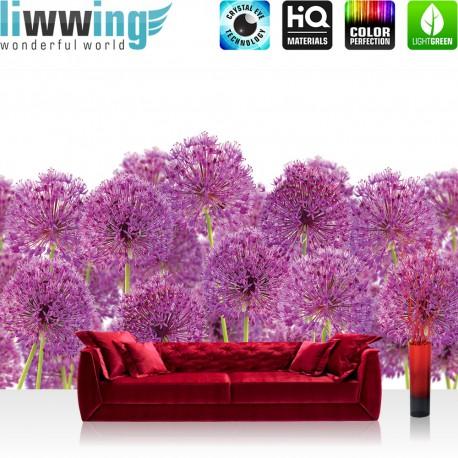 Vlies Fototapete No. 4520 | Sonstiges Tapete Blumen Knoblauch