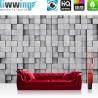 Vlies Fototapete no. 4556 | Steinwand Tapete Steine Mauer Wand Struktur grau | liwwing (R)