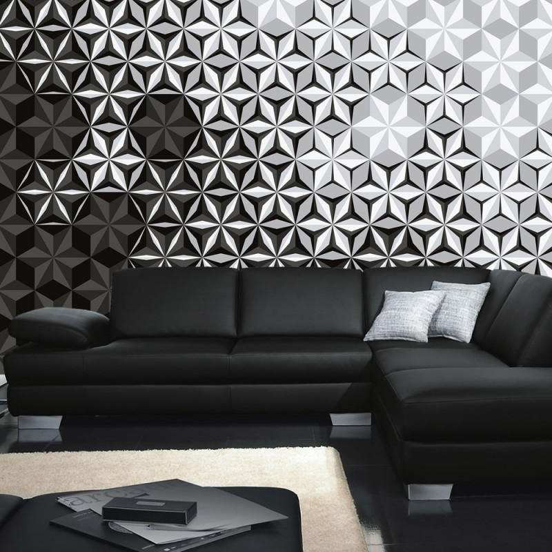 vlies fototapete no 4306 gem lde kunstwerke tapete abstraktion mosaik blumen kaleidoskop. Black Bedroom Furniture Sets. Home Design Ideas