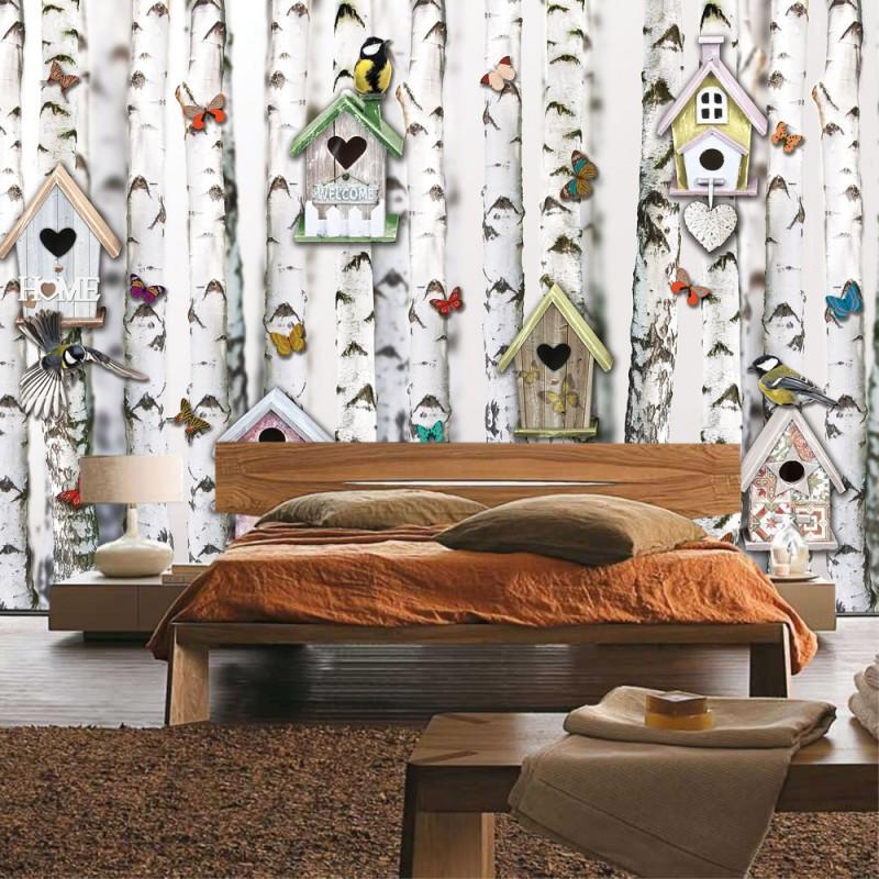 vlies fototapete no 4317 sonstiges tapete b ume wald. Black Bedroom Furniture Sets. Home Design Ideas