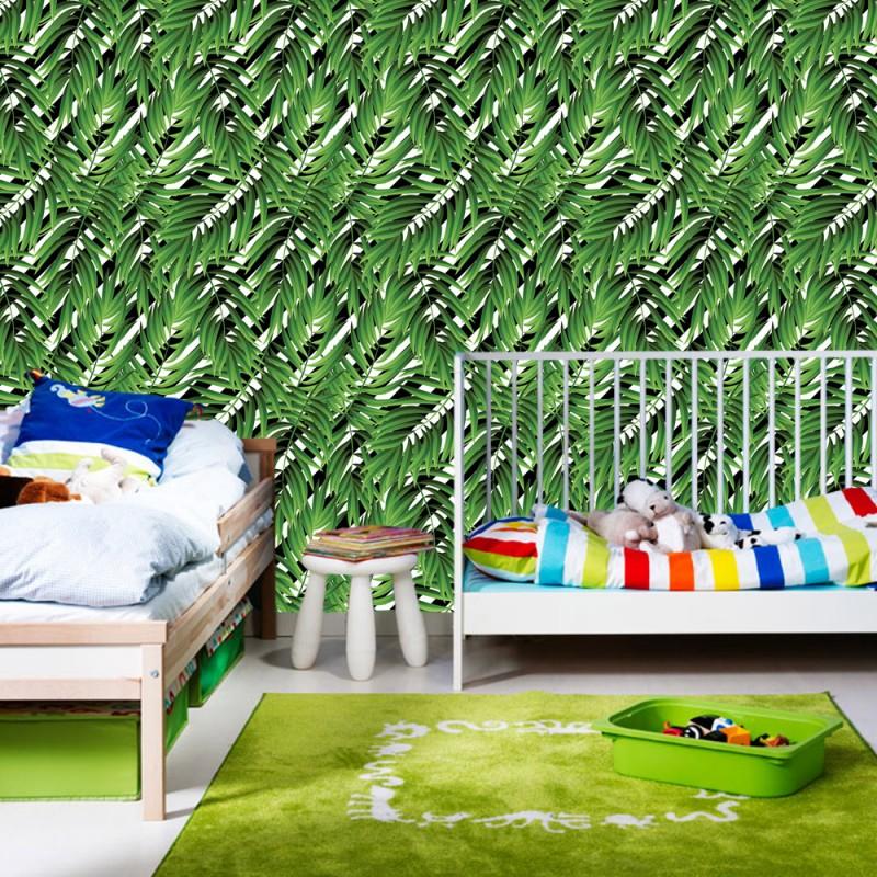 vlies fototapete no 4336 gem lde kunstwerke tapete abstraktion design mosaik blatt pflanze. Black Bedroom Furniture Sets. Home Design Ideas