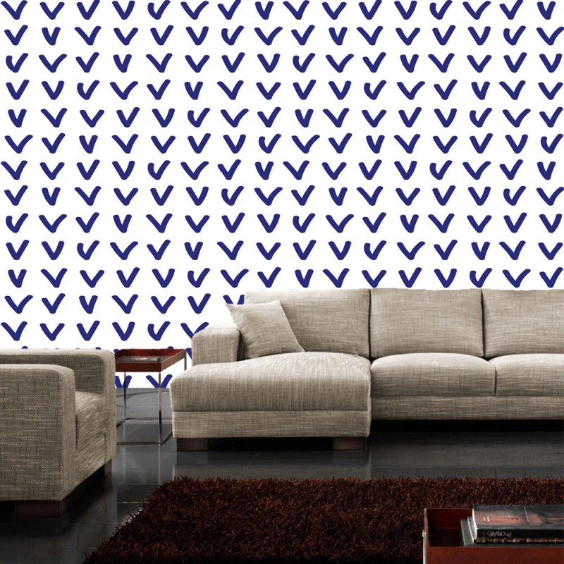 vlies fototapete no 4341 sonstiges tapete zeichen wand muster violett wei lila liwwing r. Black Bedroom Furniture Sets. Home Design Ideas