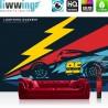 Vlies Fototapete no. 4449 | Kinder & Jugend Tapete Disney Cars Auto Blitz Lightning Mc Queen bunt | liwwing (R)