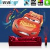 Vlies Fototapete no. 4451 | Kinder & Jugend Tapete Disney Cars Cartoon Auto Lightning Mc Queen bunt | liwwing (R)