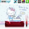 Vlies Fototapete no. 4482   Kinder & Jugend Tapete Sanrio Hello Kitty Cartoon Katze Schleifen Boot bunt   liwwing (R)