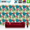 Vlies Fototapete no. 4381 | Gemälde & Kunstwerke Tapete Kaktus Blume Abstraktion Geometrie Modern Design bunt | liwwing (R)