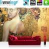 Vlies Fototapete no. 4489 | Gemälde & Kunstwerke Tapete Abstraktion Frau Ornament Malerei bunt | liwwing (R)