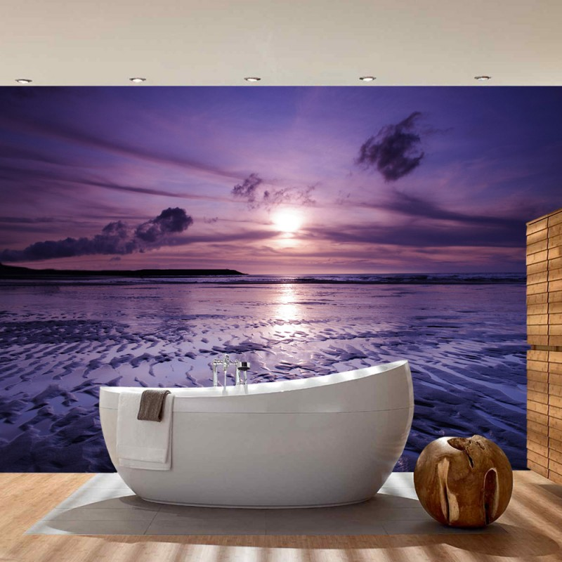 fototapete sonnenuntergang strand. Black Bedroom Furniture Sets. Home Design Ideas