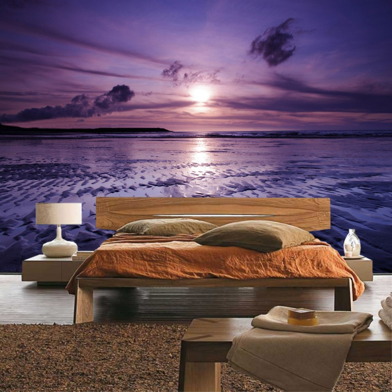 vlies fototapete no 310 sonnenuntergang tapete meer. Black Bedroom Furniture Sets. Home Design Ideas