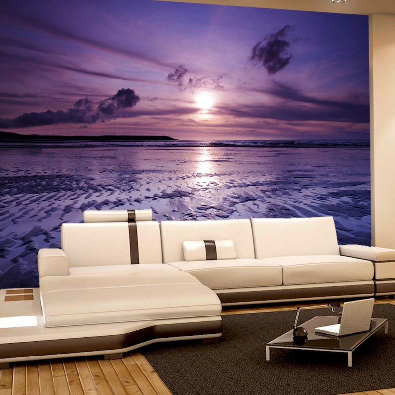 vlies fototapete no 310 sonnenuntergang tapete meer. Black Bedroom Furniture Sets. Home Design Ideas