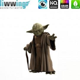 Wandsticker Disney Star Wars - No. 4641 Wandtattoo Wandaufkleber Sticker Kinderzimmer Laserschwert Raumschiffe Planet Jungen