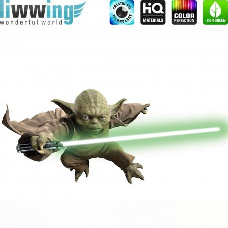Wandsticker Disney Star Wars - No. 4653 Wandtattoo Wandaufkleber Sticker Kinderzimmer Laserschwert Weltall Raumschiffe Jungen