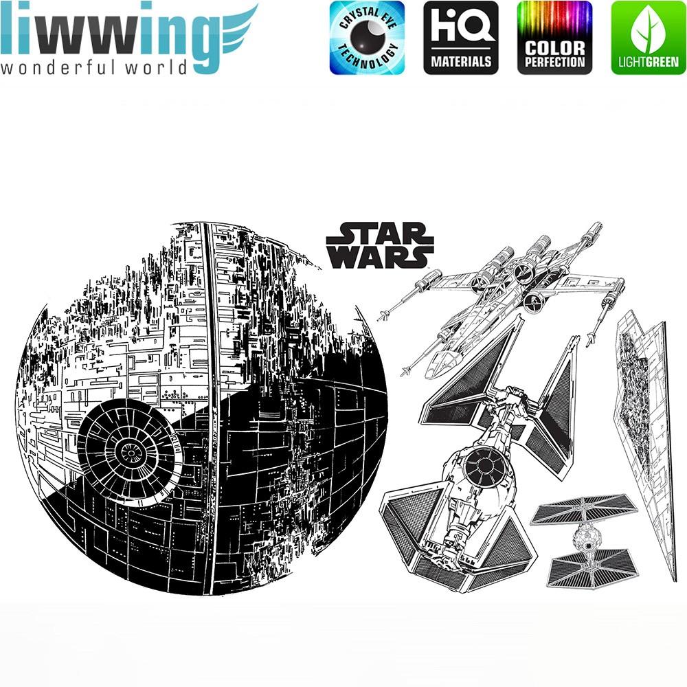 Wandsticker Disney Star Wars - No. 4669 Laserschwert Weltall ...
