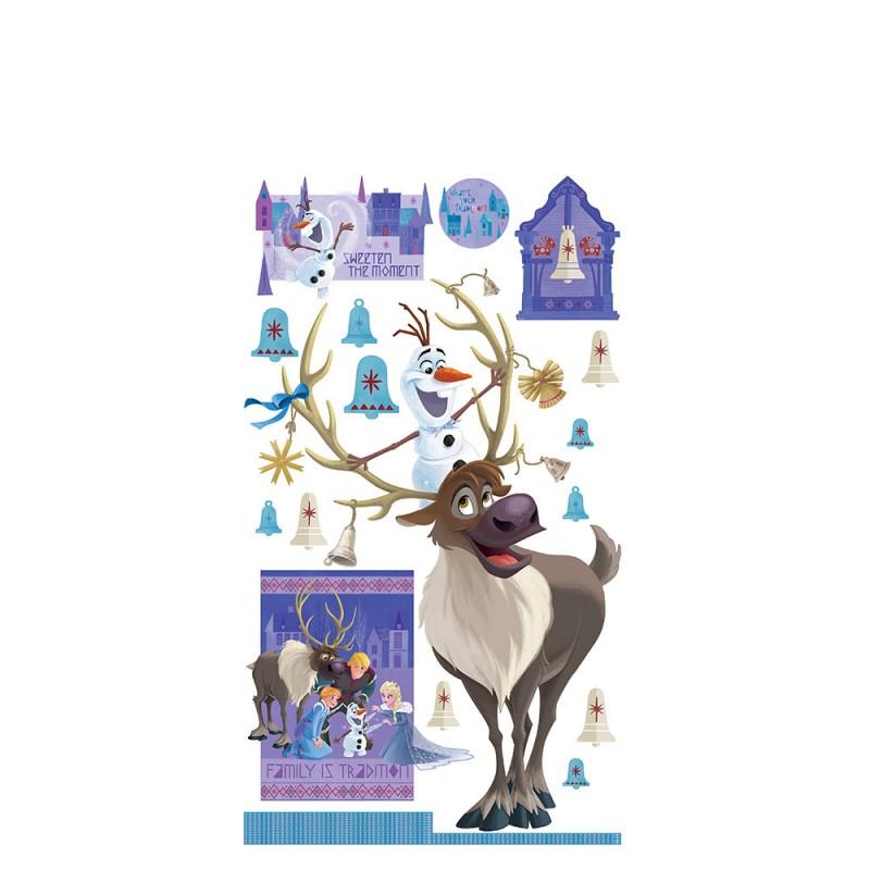 Wandsticker Disney Frozen - No. 4687 Eiskönigin Schneemann Olaf Elsa ...