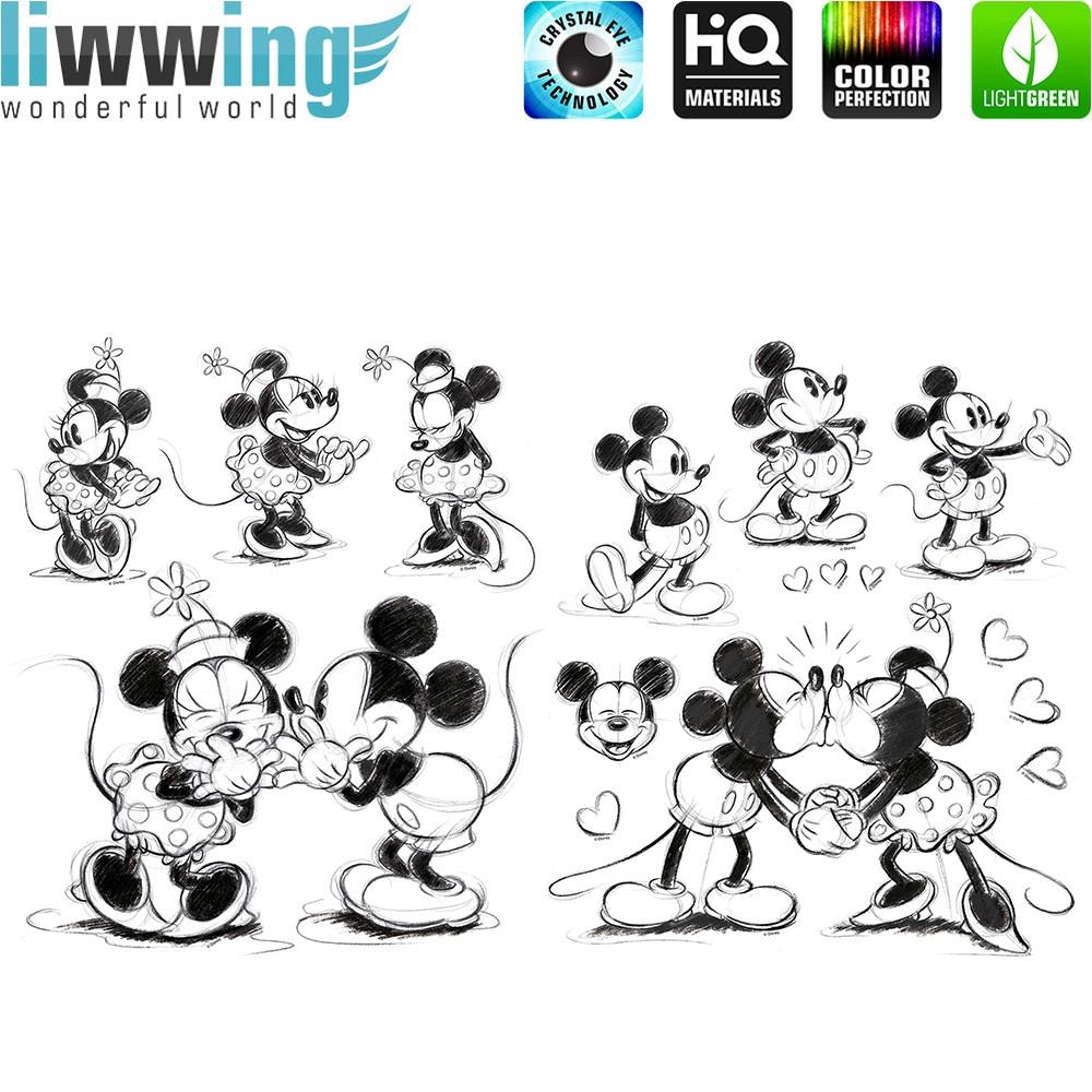 Wandsticker Disney Micky Maus - No. 4719 Disney Cartoon Minnie Mouse ...