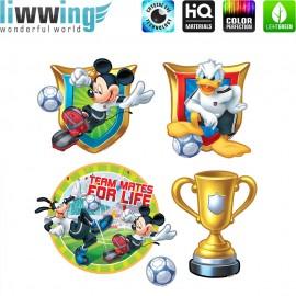 Wandsticker Disney Micky Maus - No.4791 Wandtattoo Wandaufkleber Sticker Mickey Mouse Disney Cartoon Minnie Mouse Maus