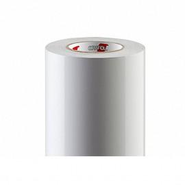 Vinyl Folie weiß Druck 4/0 inkl. Schutzlaminat matt - 100X100cm (1 qm) | Wandsticker, Möbelsticker, Tür- oder Fensterfolie