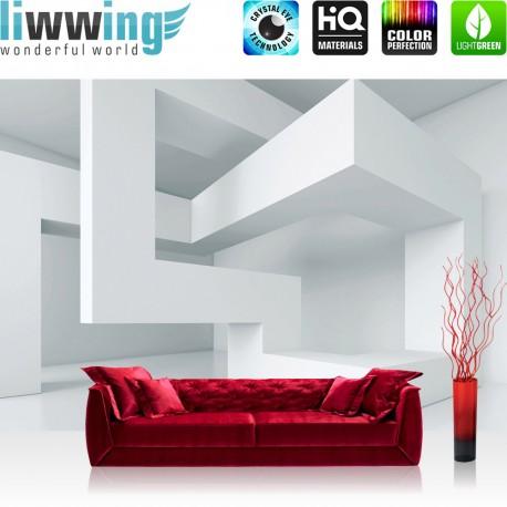 vlies fototapete no 592 3d tapete abstrakt linien. Black Bedroom Furniture Sets. Home Design Ideas