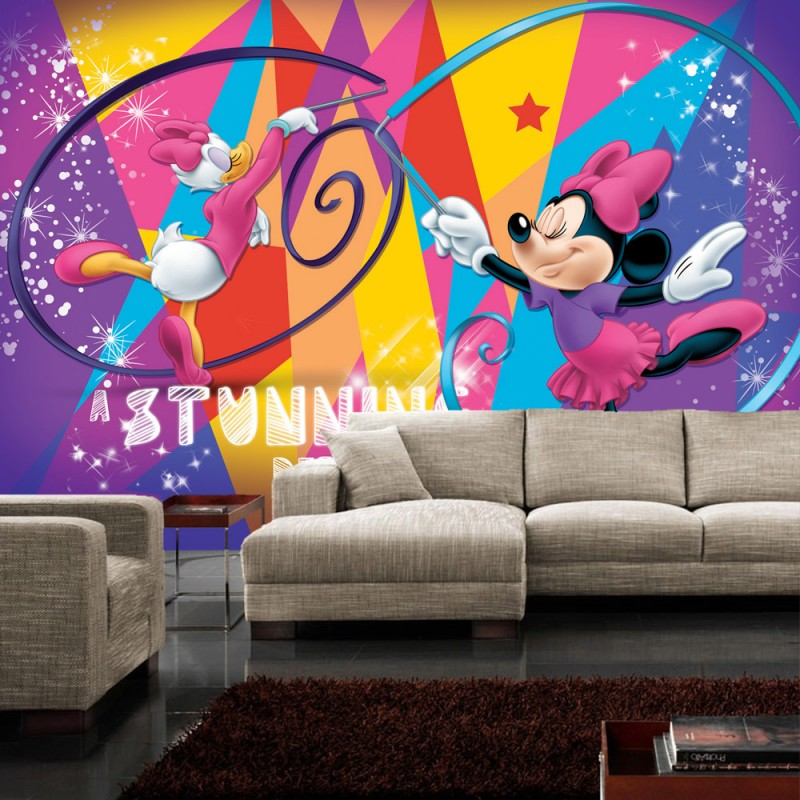 vlies fototapete no 312 disney tapete micky maus. Black Bedroom Furniture Sets. Home Design Ideas
