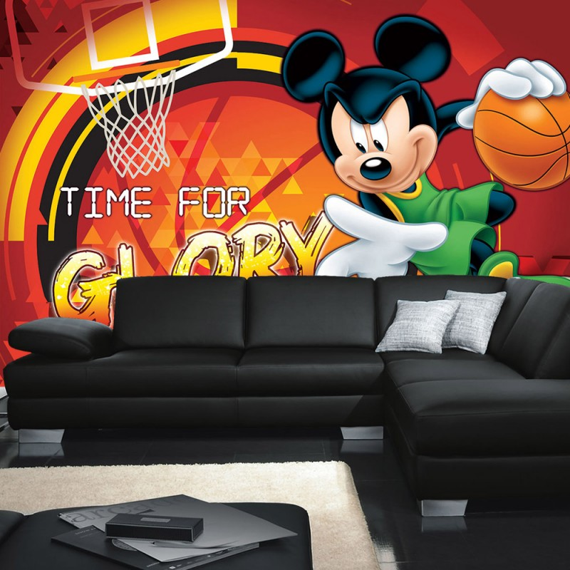 vlies fototapete no 317 disney tapete micky maus. Black Bedroom Furniture Sets. Home Design Ideas