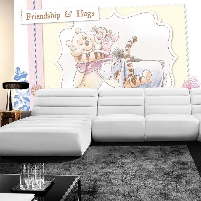 vlies fototapete no 405 disney tapete winnie puuh. Black Bedroom Furniture Sets. Home Design Ideas